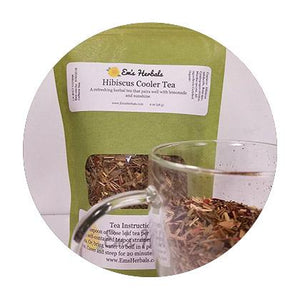 Hibiscus Cooler Herbal Tea - emsherbals