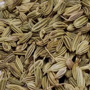 Fennel (Foeniculum vulgare) Seed, Whole, Certified Organic