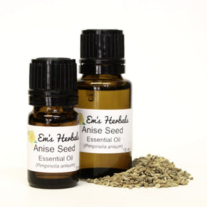 Anise (Pimpinella anisum) Seed, Essential Oil - emsherbals