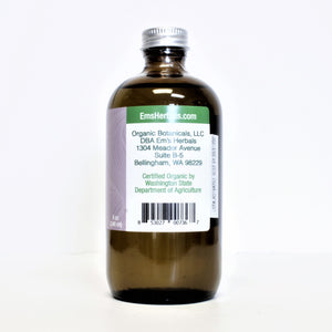 Pure Lavender Infused Oil, Certified Organic