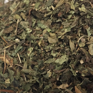 Lemon Balm (Melissa officinalis), Cut and Sifted, PNW Grown, Certified Organic