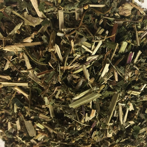 Meadowsweet (Filipendula ulmaria), Cut and Sifted, Certified Organic