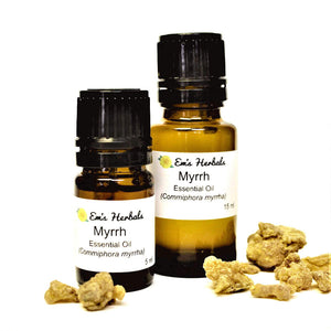 Myrrh (Commiphora myrrha) Essential Oil, Steam Distilled