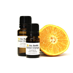 Orange, Sweet (Citrus sinensis) Essential Oil, Certified Organic
