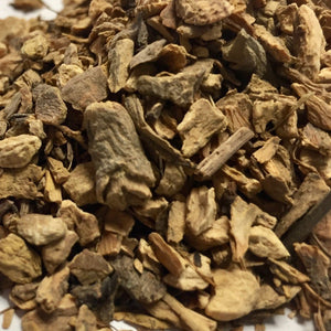 Yellow Dock (Rumex crispus) Root, Cut and Sifted, PNW Grown, Certified Organic