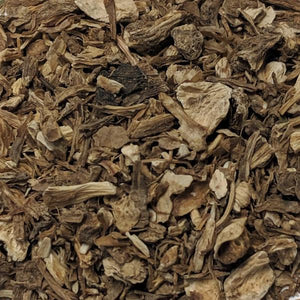 Angelica Root (Angelica archangelica) Cut and Sifted, PNW Grown, Certified Organic