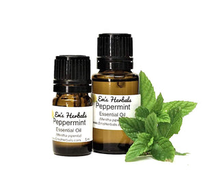 Peppermint (Mentha piperita) Essential Oil, Steam Distilled