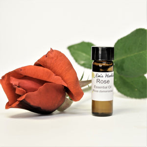 Rose (Rosa damascena) Essential Oil, Certified Organic