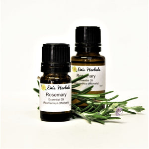 Rosemary (Rosemarinus officinalis) Essential Oil, Steam Distilled