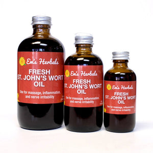 Fresh St. John's Wort Infused Oil - emsherbals