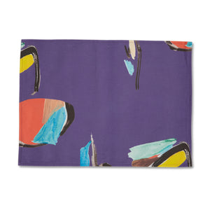 Purple Pod Placemat