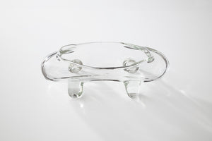 Canoe Glass Ashtray