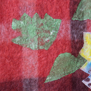 Quilt Painting 'Pattern Series 3' Tapestry Textile Art