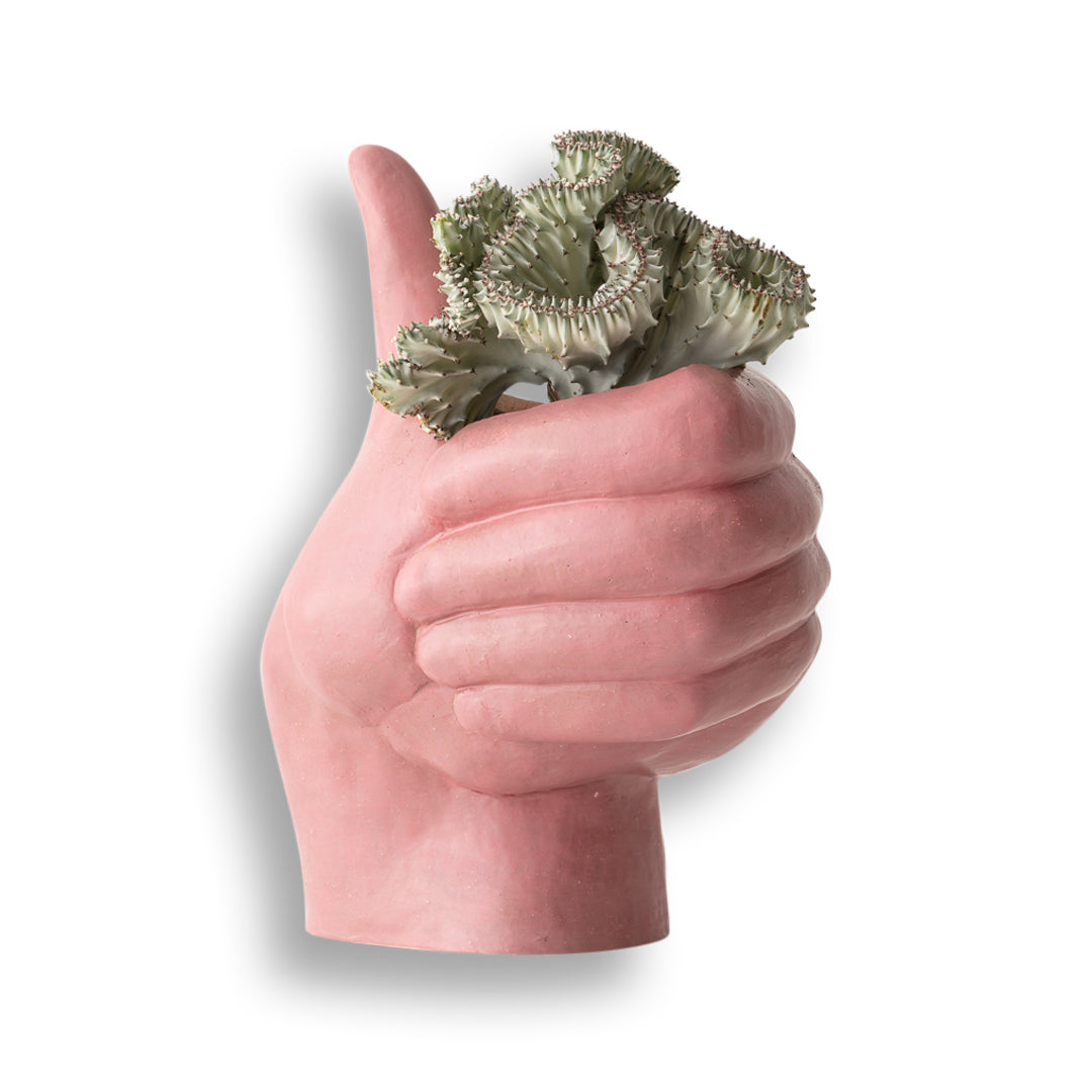 Thumbs-Up Planter