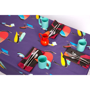 Purple Pod Table Cloth