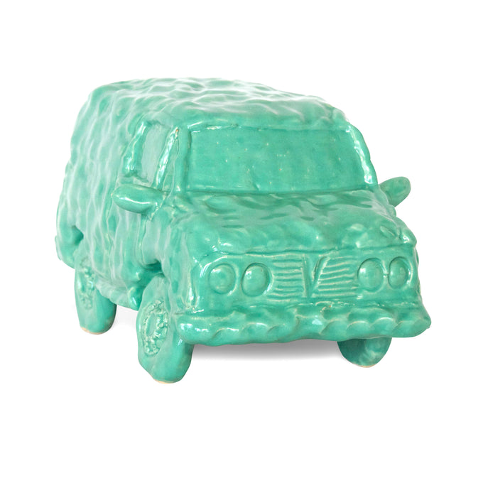 Bermuda Green Ceramic Van