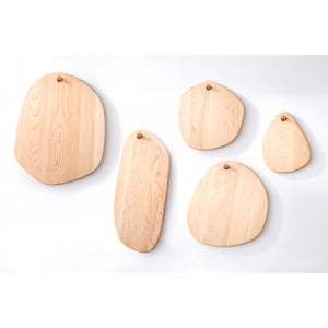 Oval Pebble Cutting Board