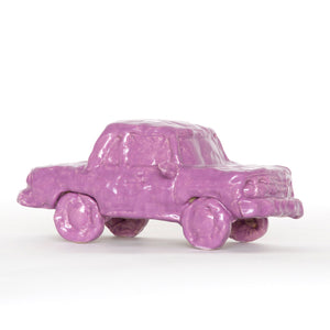 Dark Purple Ceramic Car