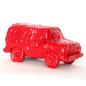 Red Ceramic Car