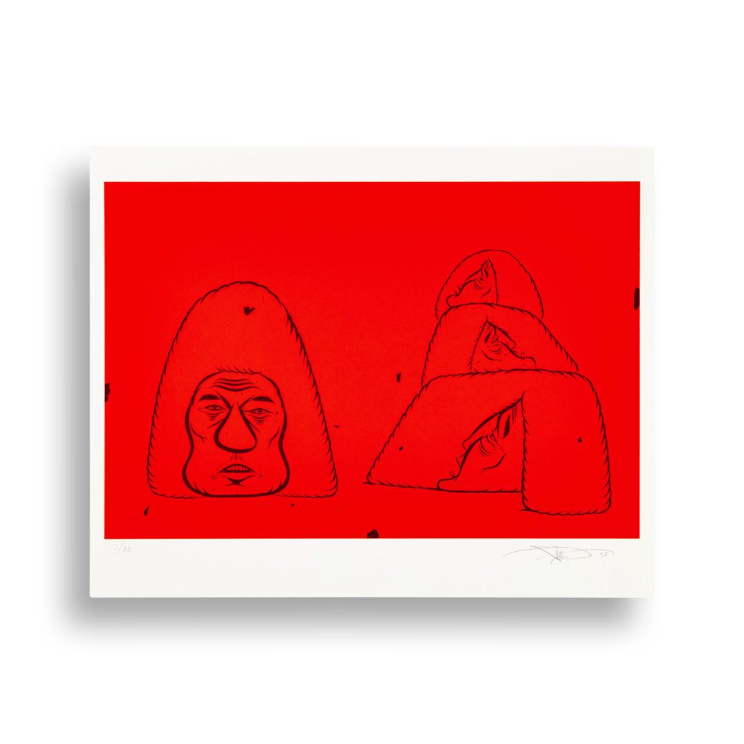 Barry McGee, Untitled, 2020 Limited Edition Print