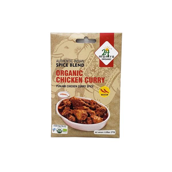 24 Mantra Organic Chicken Curry Mix