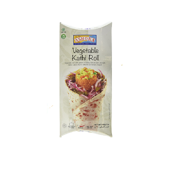 Ashoka Vegetable Kathi Roll