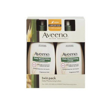 Aveeno Daily Moisturizing Lotion, 2 x 20 oz