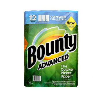 Bounty Advanced Paper Towels, 12 x 110 Sheets