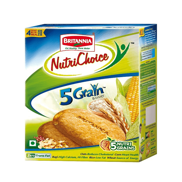 Britannia 5 Grain Biscuits