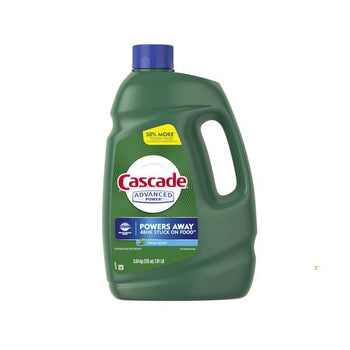 Cascade Advanced Power Dishwasher Gel, 125 oz