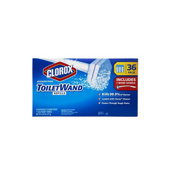 Clorox Toilet Wand with Refills, 36 ct
