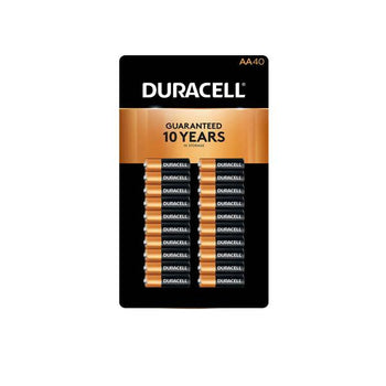 Duracell Alkaline AA Batteries, 40 ct