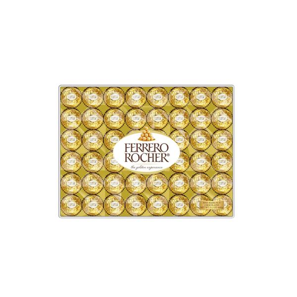 Ferrero Rocher Hazelnut Chocolates, 48 ct