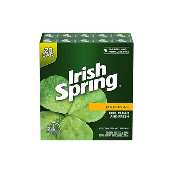 Irish Spring Original Bar Soap, 20 x 4 oz