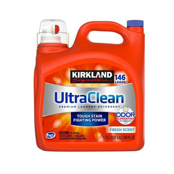 Kirkland Signature Ultra Clean HE Liquid Detergent 146 Loads, 194 Oz