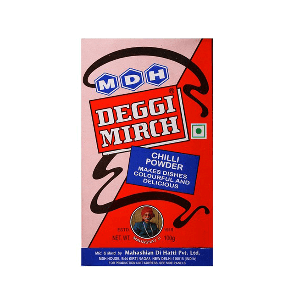 MDH Deggi Mirch Masala (Bright Red Chili Powder)
