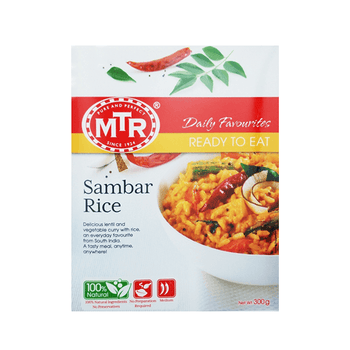 MTR Sambar Rice with Vegetables & Lentils