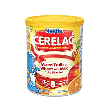 Nestle Cerelac - Mixed fruits, Wheat & Milk