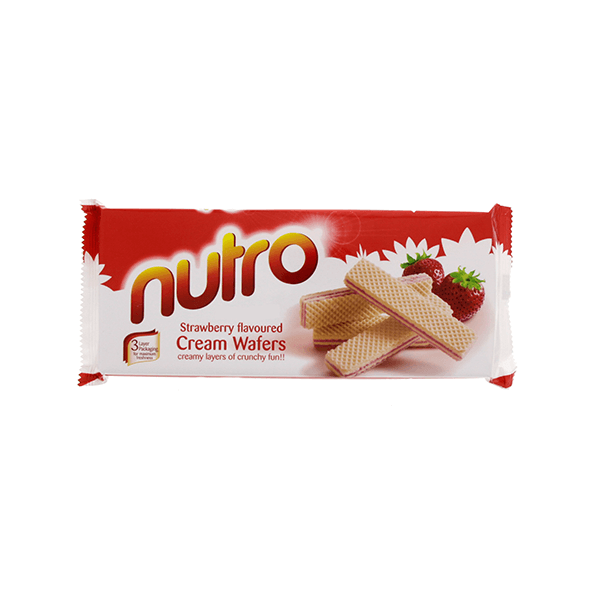 Nutro Strawberry Flavoured Cream Wafers