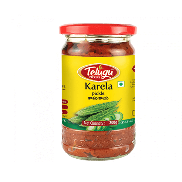 Telugu Karela Pickle