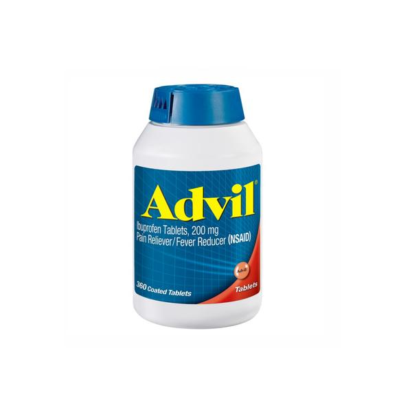 Advil 200 mg Tablets, 360 ct