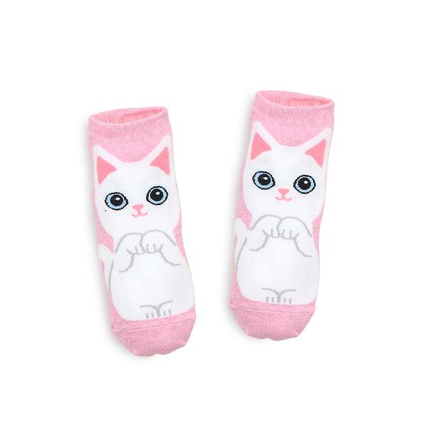Cute Baby Cats Socks Puss in Boots Girls Ankle Sock women animal OO15 - intypesocks