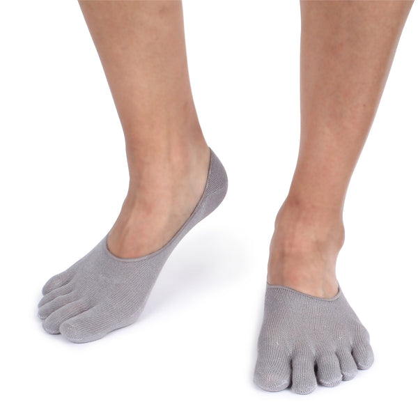 Toe Socks Cotton Five Finger Socks For Men No show 3 pairs UB - intypesocks