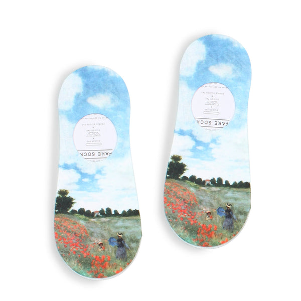 Women Famous Painting Art Printed Funny Novelty Casual Cotton Crew Socks YA14 - intypesocks