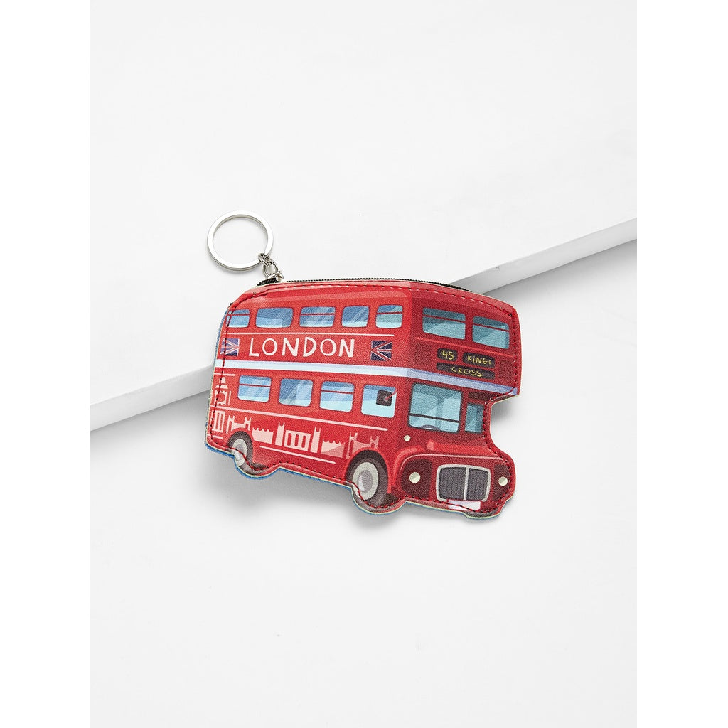 Bus Shaped Coin Purse