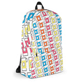 Colorful Camera Pattern (photographer) Backpack