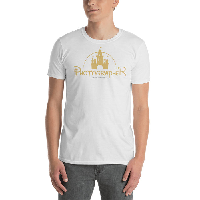 "Disney inpired ""Photographer"" shirt Short-Sleeve Unisex T-Shirt"