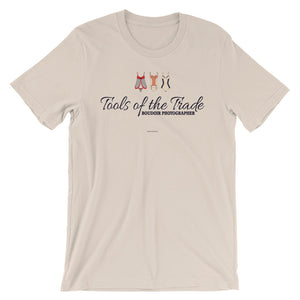 """Tools of the trade"" Boudoir Photographer Short-Sleeve Unisex T-Shirt"