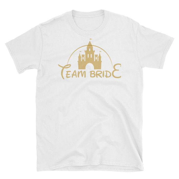 "Disney inpired ""Team Bride"" shirt Short-Sleeve Unisex T-Shirt"