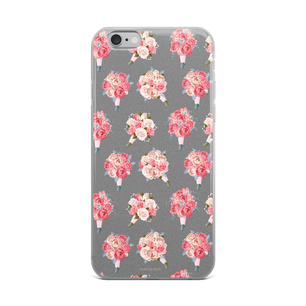 Wedding Bouquets Pattern (Florist) iPhone Case